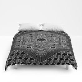 August Mandala 2018 Comforters