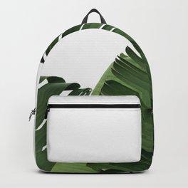Minimal Banana Leaves Backpack