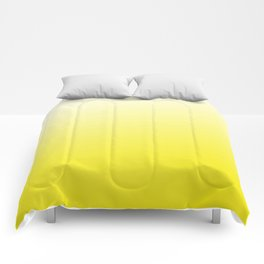 Simply sun yellow color gradient - Mix and Match with Simplicity of Life Comforters