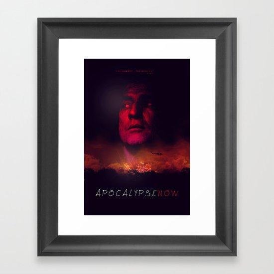 Apocalypse Now Poster Framed Art Print