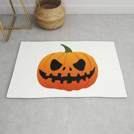Halloween pumpkin. Rug