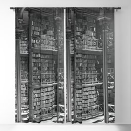 A Book Lover's Dream - Cast-iron Book Alcoves of Old Cincinnati Public Library Blackout Curtain