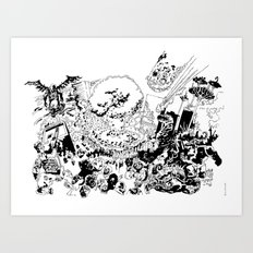 Apocalypse How? Art Print