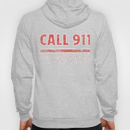 Retired Fire Fighter Retirement Distressed design Hoody