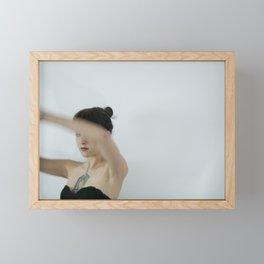 Morgan 4 (Woman Portrait) Framed Mini Art Print