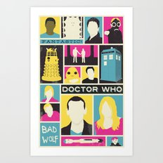 Doctor Who - The Ninth Doctor Art Print