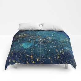 Star Map :: City Lights Comforters