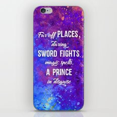 Far off Places iPhone & iPod Skin