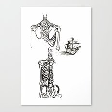 Anatomy Canvas Print