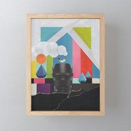 Free Fall Framed Mini Art Print