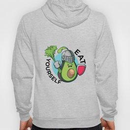 Avocado in armor - eat yourself Hoody