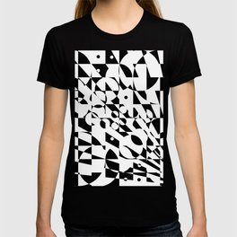 Fractured Structure T-shirt