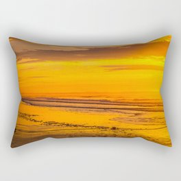 50 shades of gold Rectangular Pillow