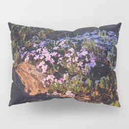 Wildflowers at Dawn - Nature Photography Pillow Sham