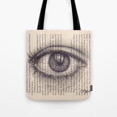 Eye in a Book Tote Bag