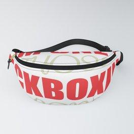 Kickboxing Gift Boxing Martial Arts Kickboxer Ko Fanny Pack