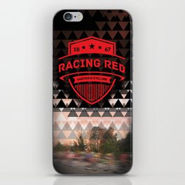 Gastown Cycling Racing Reds iPhone Skin