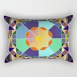 Octagonal geometric pattern abstract Rectangular Pillow