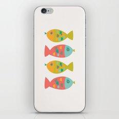 Four Fish iPhone & iPod Skin