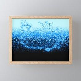 Water Splash Framed Mini Art Print