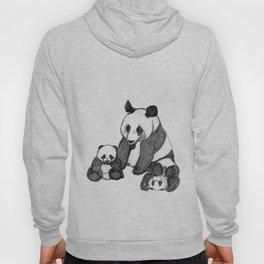 Famille de pandas Hoody