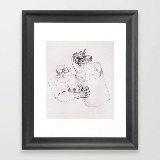 Bottler Framed Art Print