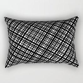 The Bauhaus Grid, diagonal pattern Rectangular Pillow