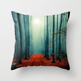Landscape (colour option) Throw Pillow