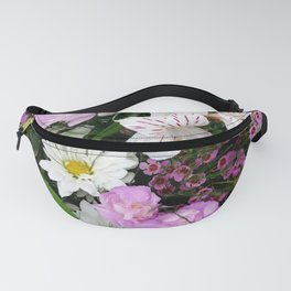 Birthday Flowers 2 Fanny Pack