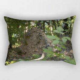 Fallen Tree Rectangular Pillow
