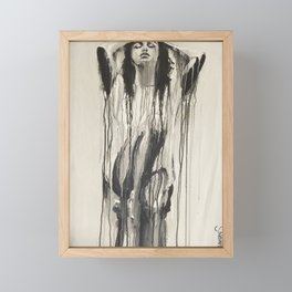 Flushed Framed Mini Art Print