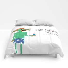 Stay Awesome! Comforters