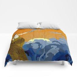"""""""Wings of Victory"""" Art Deco Design Comforters"""
