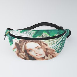 Tropical Girl Fanny Pack
