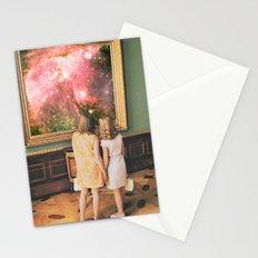 Su bella distancia Stationery Cards