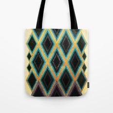 Diamond pattern Tote Bag