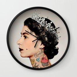 Rebel Queen Wall Clock