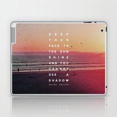 Face to the Sunshine Laptop & iPad Skin