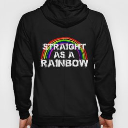 Gay Pride Parade LGBT Lesbian Gay Bi Trans Queer Pan Dark Hoody