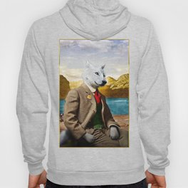 Mr. Wolf Relaxing at the Lake Hoody