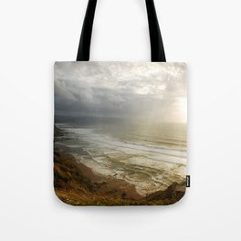 Nature photography. Barrika Beach, Basque Country. Spain. Tote Bag