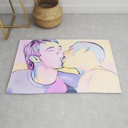 Boys French Kiss Rug