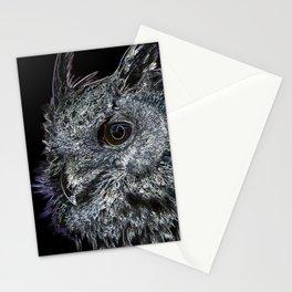 Dark Owl Stationery Cards