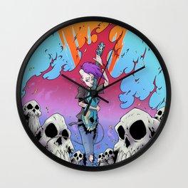 Blast - Jezebelle In Hell Wall Clock