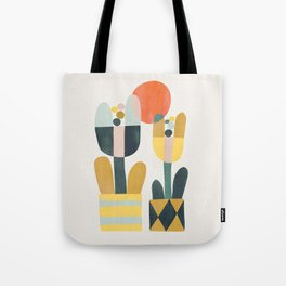 Two flowers Tote Bag