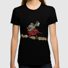 Cardinal Blaze 3 Womens Fitted Tee X-LARGE Black
