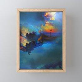 Time keepers Framed Mini Art Print