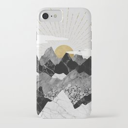 Sun rise iPhone Case
