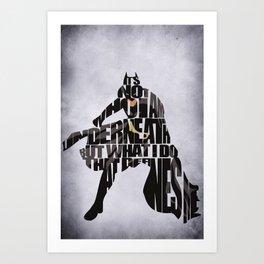 Batman Art Print