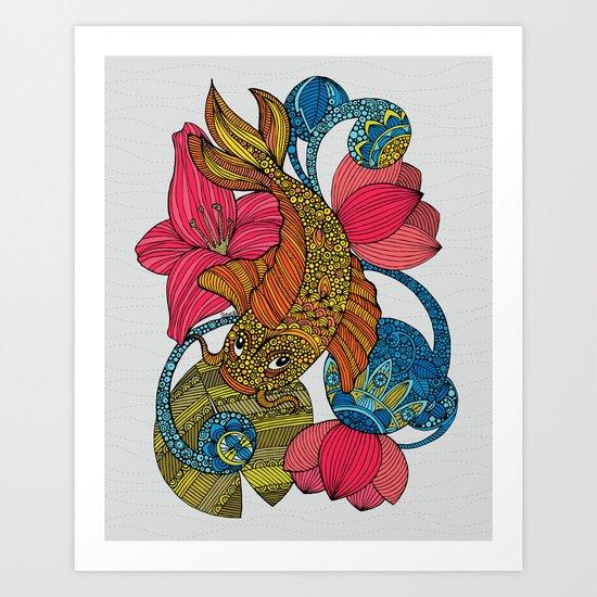 Koi Palloi Art Print